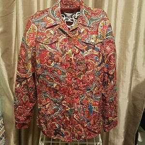 Plus size womens Coldwater Creek jacket
